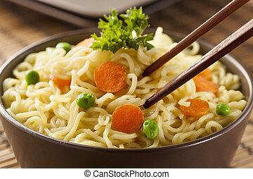 rapidamente, noodles, ramen, caseiro