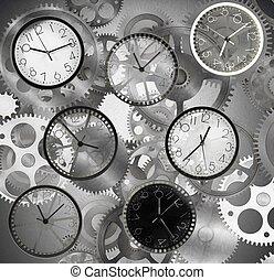 rapidamente, tempo