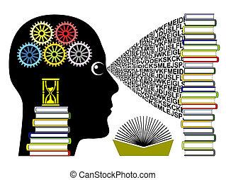 rapide, concept, apprentissage