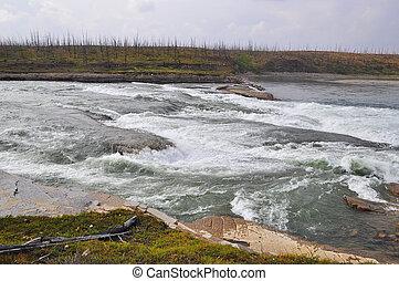Rapids on the Putorana plateau.