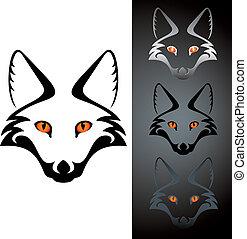 raposa, ícone