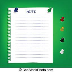 rappel, notes