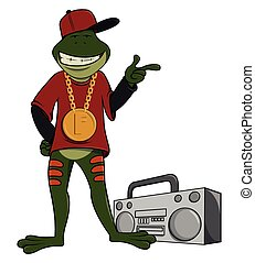 rapper, grenouille