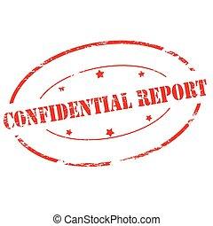 rapport, confidentiel