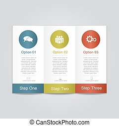 rapport, infographic, template., vektor, illustration.