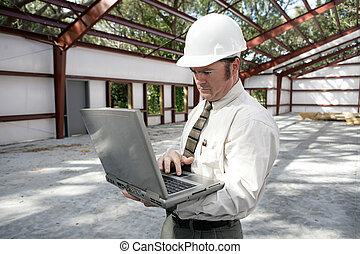 rapport, inspecteur, bouwsector