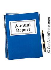 rapport, jaarlijks