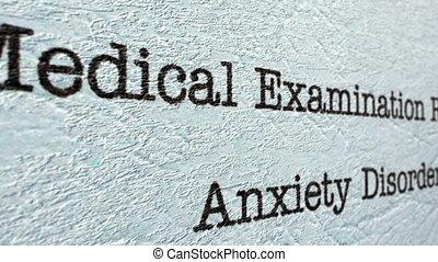 rapport, monde médical, inquiétude, désordre