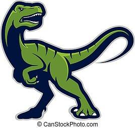 Raptor mascot