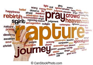 Rapture word cloud - Rapture concept word cloud background