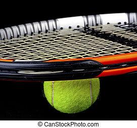 raqueta, ennis, pelota