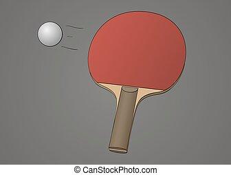 Vecteurs eps de balle badminton tennis quipement - Choisir sa raquette de tennis de table ...
