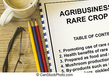 Rare crop production and processing seminar and training.