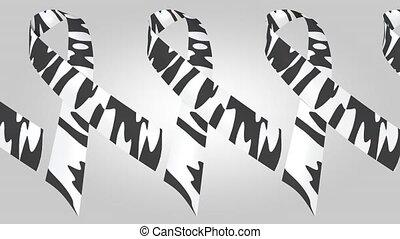 rare-disease, loopable, mouvement, zebra-print, fond, ...
