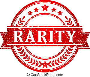 Rarity stamp