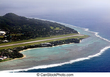 Rarotonga International Airport - Cook Islands - RAROTONGA -...