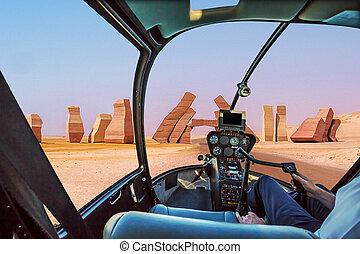 Ras Mohammed Helicopter