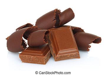 rasages chocolat