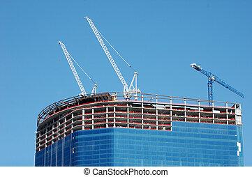 rascacielos, construcción