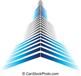 rascacielos, icono