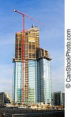 rascacielos, interpretación el sitio