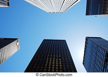 rascacielos, nueva york
