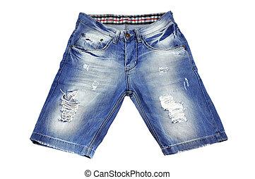 rasgado, shorts