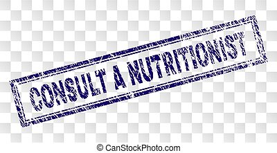 rasguñado, estampilla, rectángulo, nutricionista, consultar
