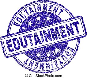 rasguñado, estampilla, sello, textured, edutainment