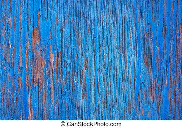 rasguñado, pared, madera