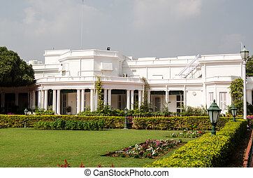 Rashtrapati Nilayam, the Presidential Palace, in Bollarum, Secunderabad, India. When the President of India visits the South of the country, he often stays here.
