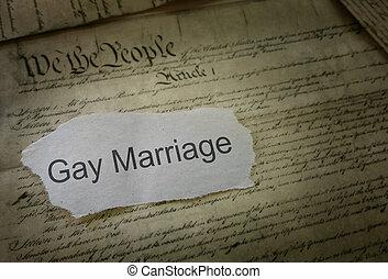 rask, ægteskab, nyhed, overskrift