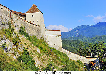 rasnov, forteresse