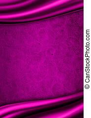 raso viola, tessuto, fondo