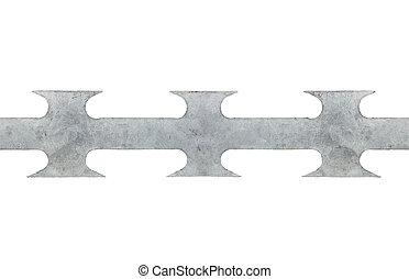 rasoio, pungente, filo,  macro, grigio,  seamless, grande, nastro,  closeup