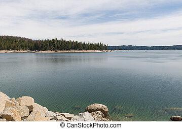 rasoir, rivage, lac