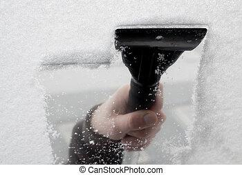 raspador del hielo