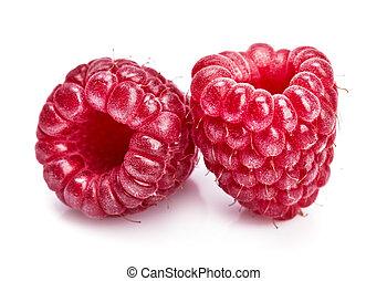 Raspberry berries healthy food