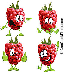 raspberry cartoon