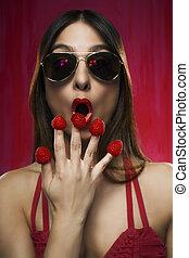 Raspberry fingers I