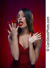 Raspberry fingers III