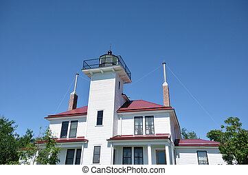 Raspberry Island Lighthouse