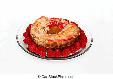 Raspberry Ring Cake