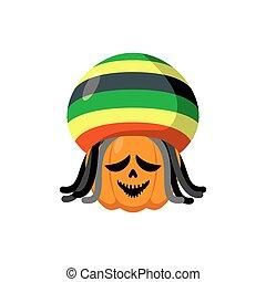 rastaman, スタイル, rasta, rastafarians., dreadlocks., シンボル, ...