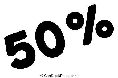 Raster 50 Percents Icon