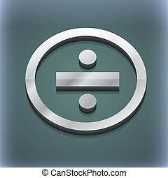 raster, dividere, spazio, testo, moderno, simbolo., style., trendy, disegno, 3d, tuo, icona