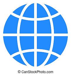 Raster Globe Icon