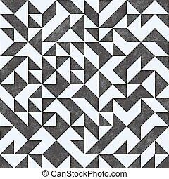 Raster Seamless Geometric Pattern