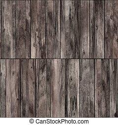 Raster Seamless Wooden Bark Floor Texture