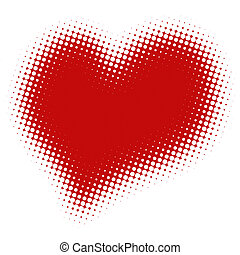 rasterized image of heart